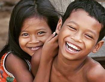 Paraguay children smiling