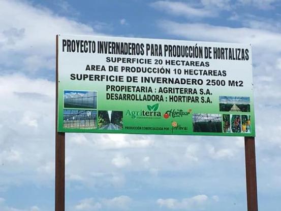 Greenhouse Project Nueva Italia Paraguay