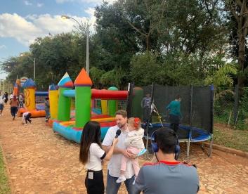 el Día del Niño AgriTerra Nueva Italia Paraguay